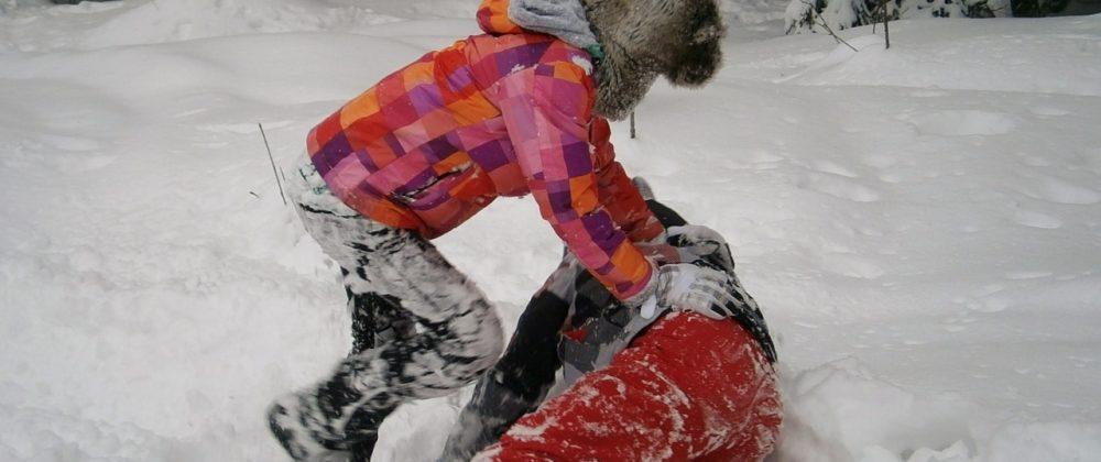 Winterspaß für Kinder - mit und ohne Schnee